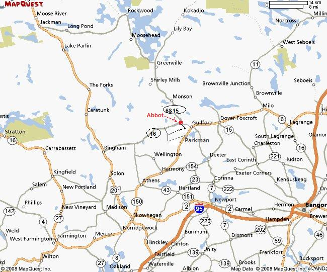 Maine Map Quest.Maps And Directions