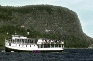 Katahdin cruise Boat. - Click for tour info