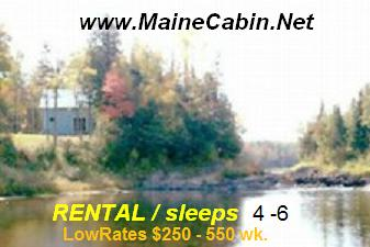 Maine Cabin / Camp rental -  low rates